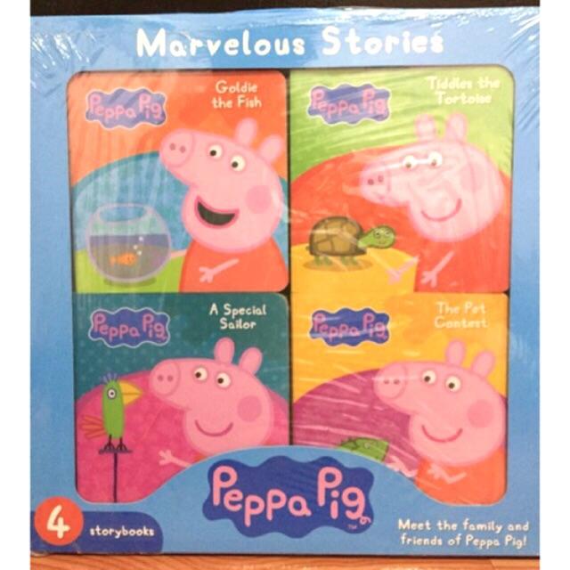 4-in-1 Story Books Peppa Pig