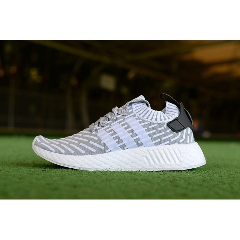 autumn shoes most popular later Aonetop Ready Stock100% ori Adidas NMD R2 Men /Women Running Casual Shoes