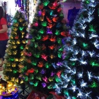 Fiber Optic Christmas Tree.7color Light Fiber Optic Christmas Tree 8ft 240cm
