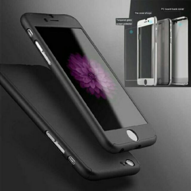 new styles 0624a b84ca Iphone 4/4S 5/5S 6/6S+ 7/7+ 360 CASE