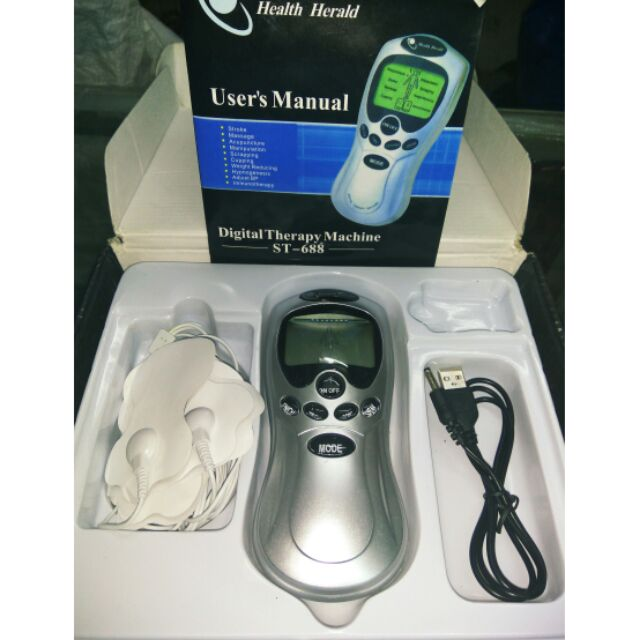 user manual digital therapy machine st-688