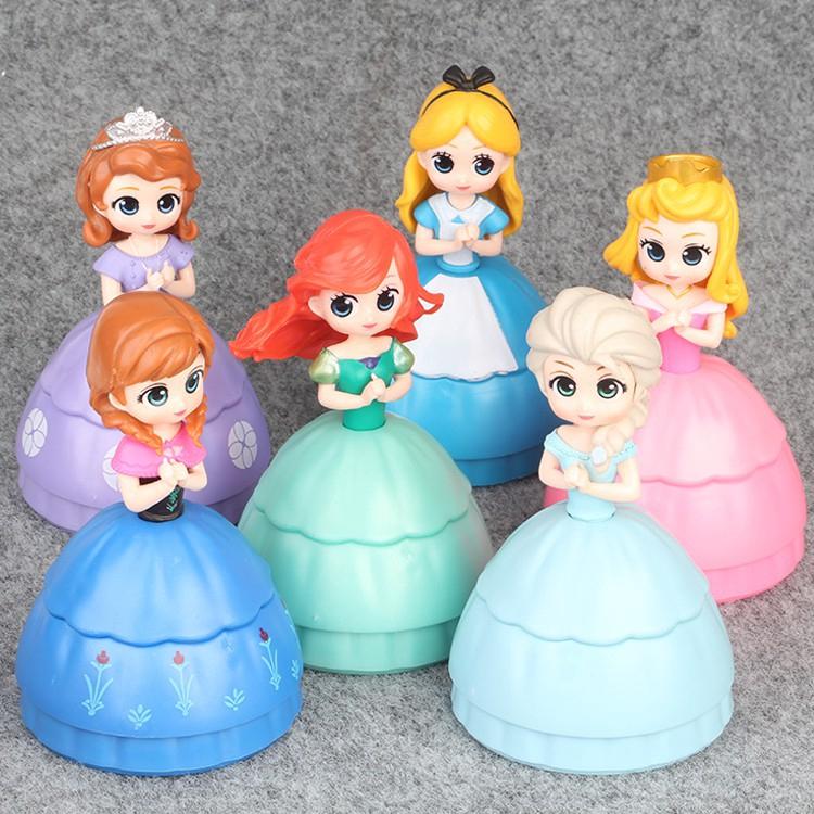 03d08bbc909ec 6pcs Princess Sophia Alice Mermaid Elsa Anna Aurora Toy