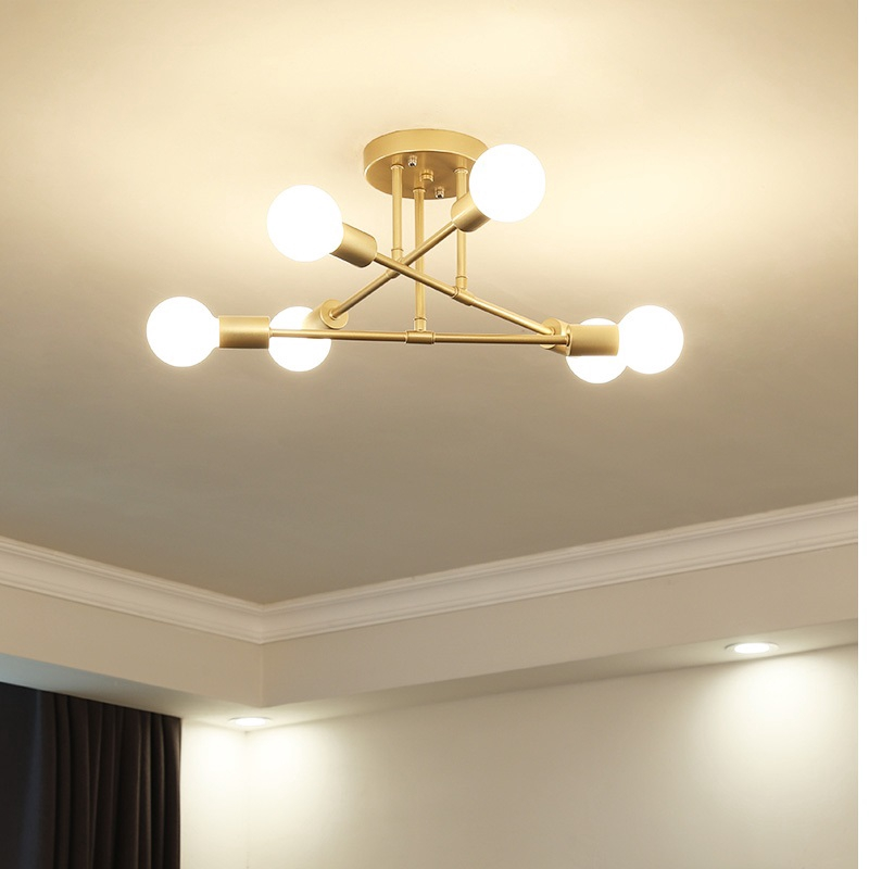 Modern Led Ceiling Chandelier Lighting Living Room Bedroom Chandeliers Creative Home Light Fixtures Shopee Philippines