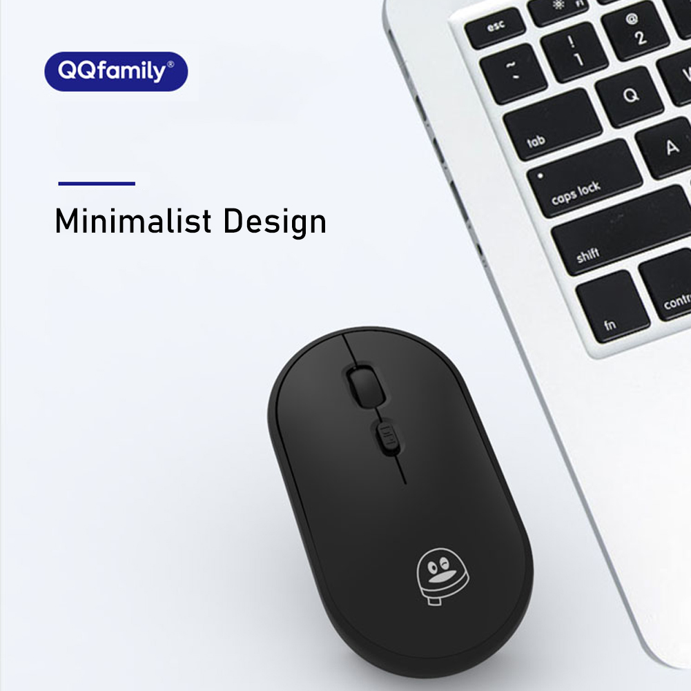 Mini Small Qq Qm700 Wireless Chargeable Mouse Thin Stable Connection And Powerful System Compatibility For Pc Office Shopee Philippines
