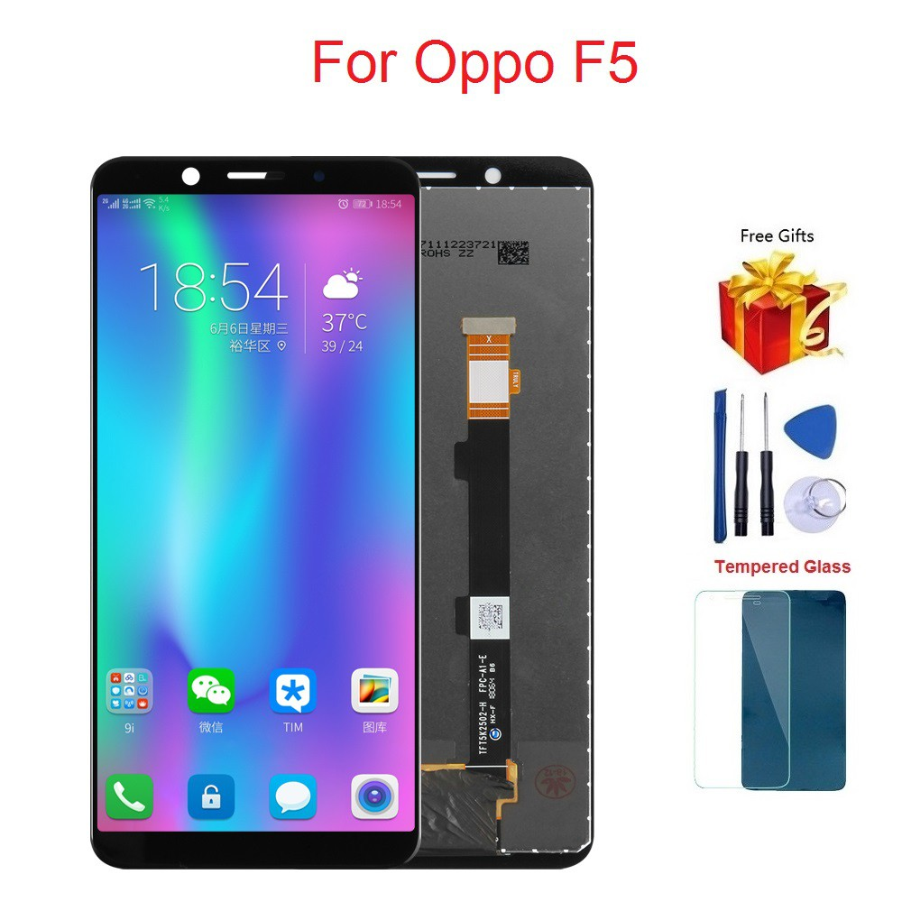 For Oppo A73 F5 LCD Display Touch Screen Digitizer Assembly