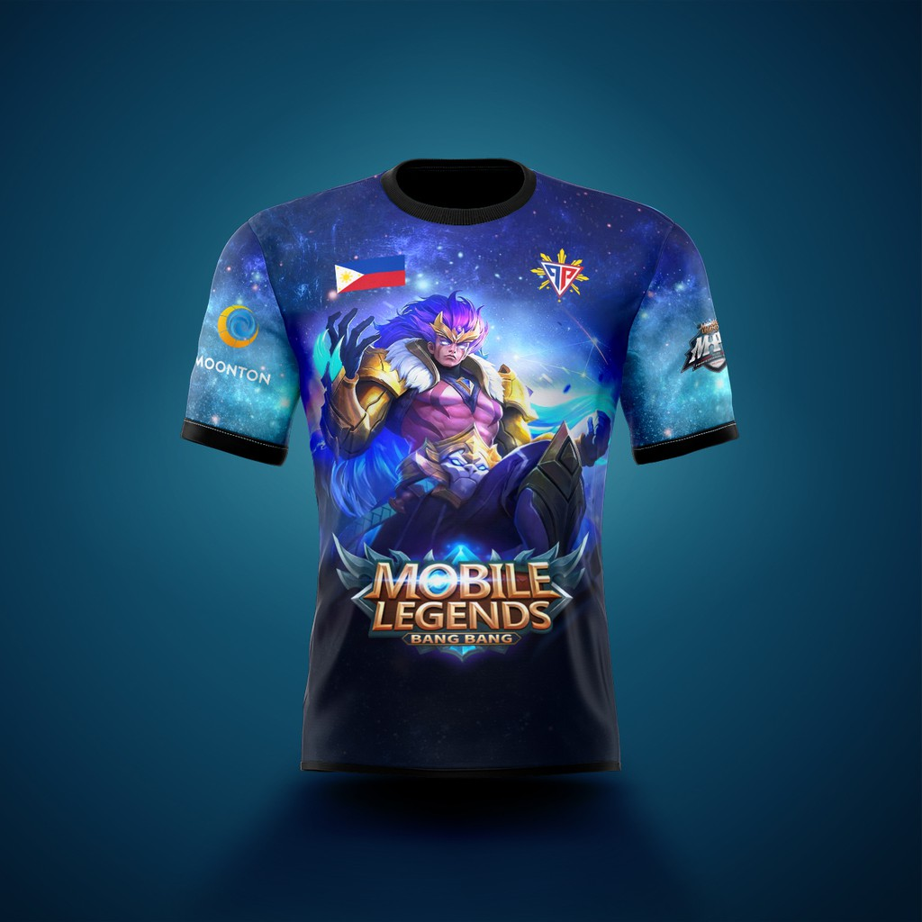 Mobile Legends Badang Tshirt Full Sublimation Premium Design Shirt Shopee Philippines