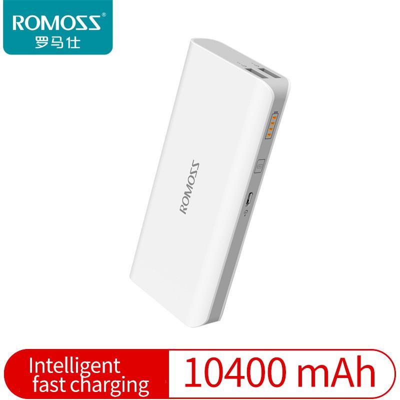 Romoss Sense 4 10400mAh Power Bank(white)