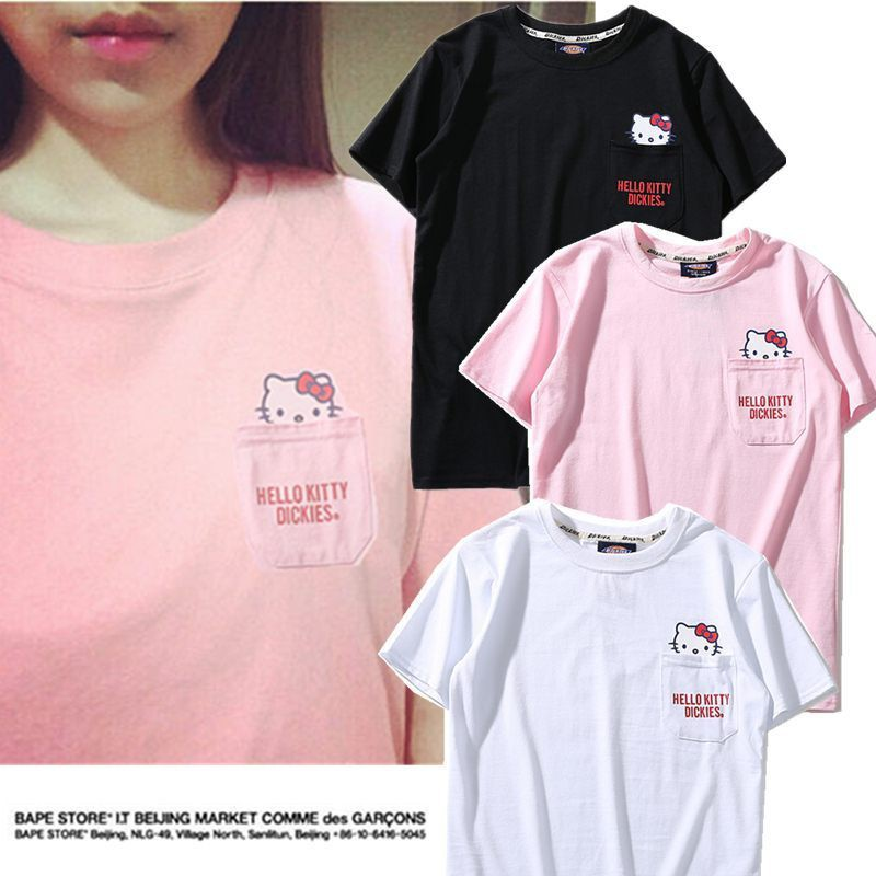 9b97360ee [COD] COUPLE SHIRT - HELLO KITTY | Shopee Philippines