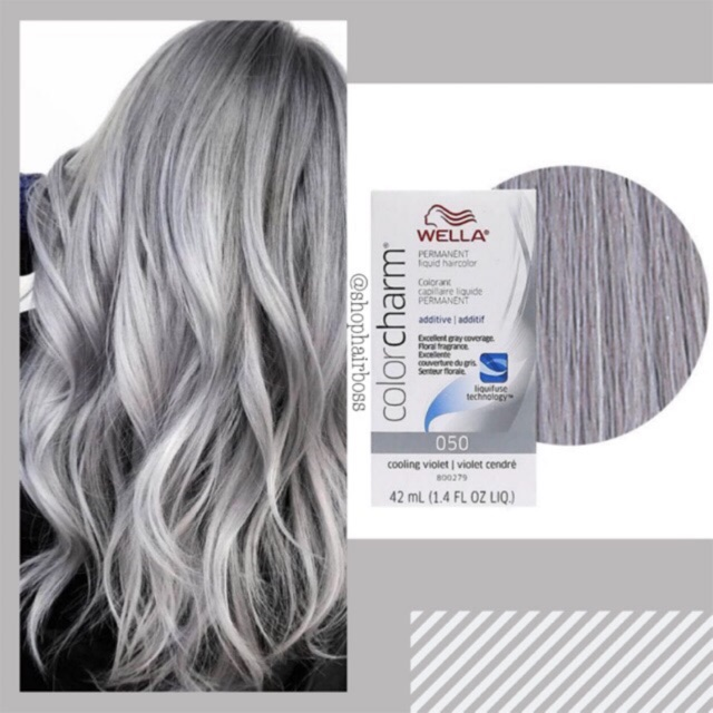 Wella Color Charm 050 Cooling Violet (Silver/Gray Hair)
