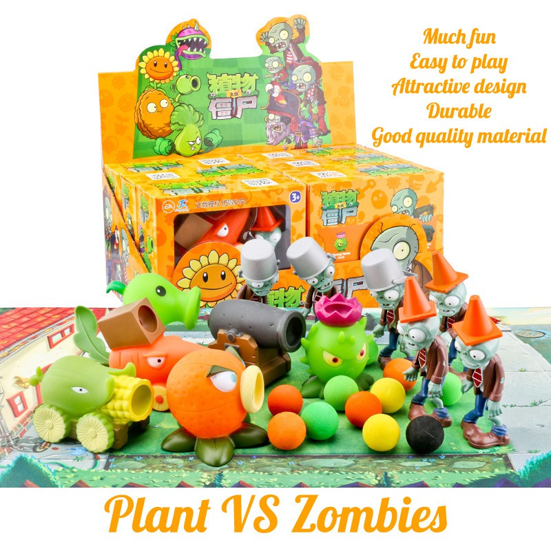 Creative Toys Plants and Zombies for Boys and Girls