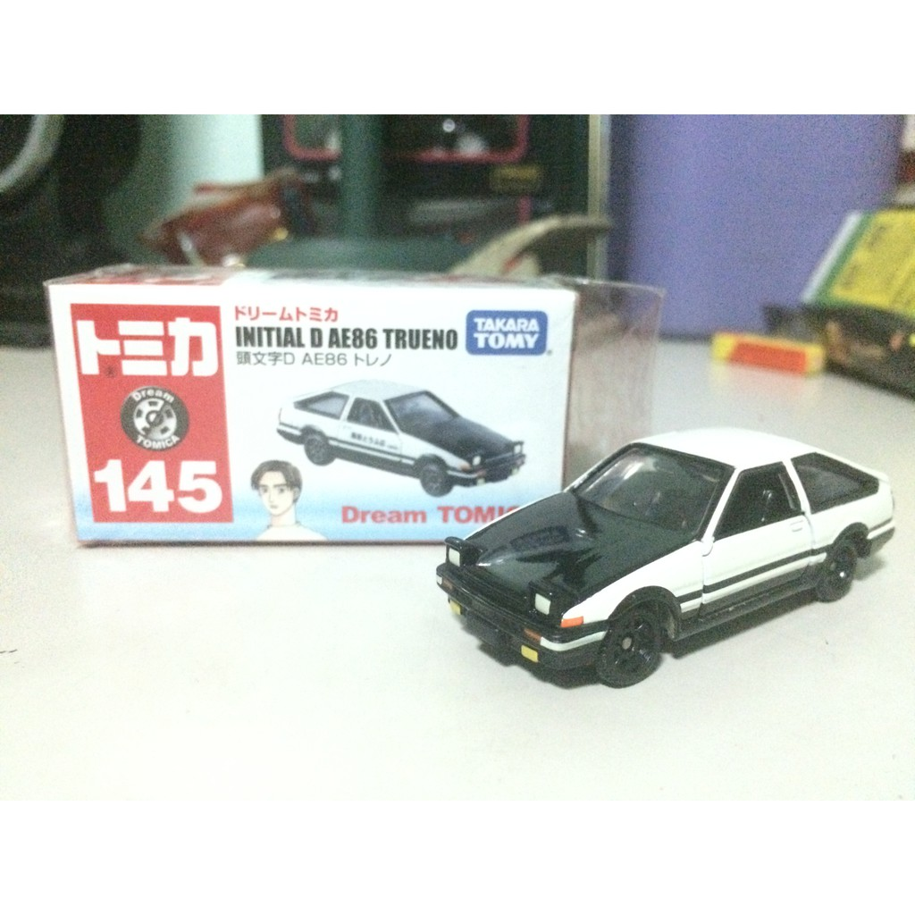 Dream Tomica Initial D Toyota Sprinter Trueno Black Hood | Shopee  Philippines