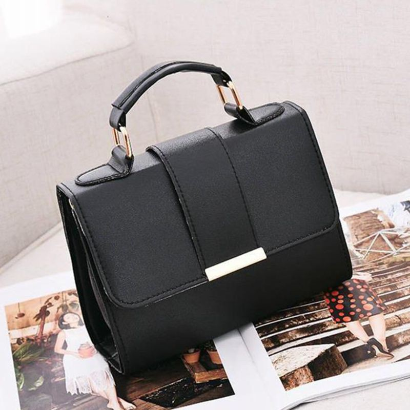 Women/'s High Quality Faux Leather Small Crossbody Messenger Handbag Shoulder Bag