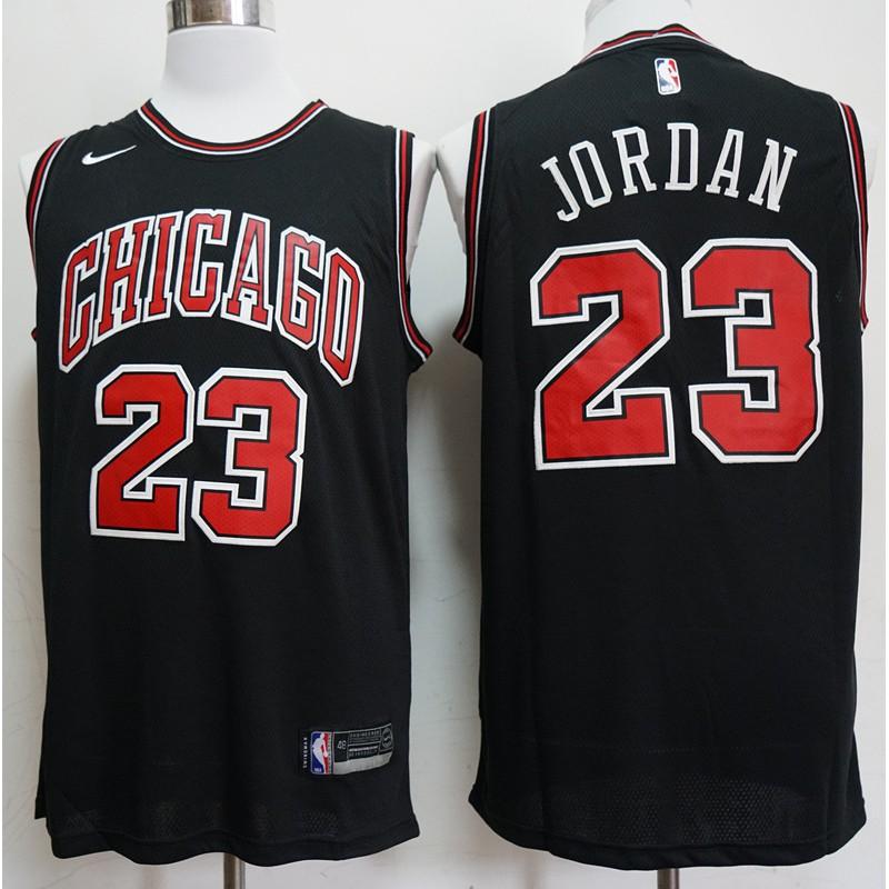 michael jordan black bulls jersey