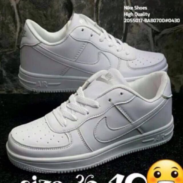 Te mejorarás Colapso para mi  NIKE AF1 AIR MAX Low Cut Women's and Men's shoes | Shopee Philippines