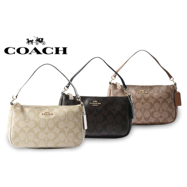 cd2ddd188dc77 Coach Messico Top Handle Pouch In Signature Crossbody Bag