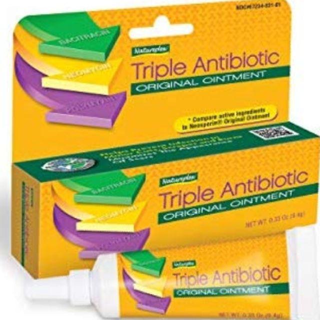 Natureplex Triple Antibiotic Original Ointment 0 33 Ounce Tube