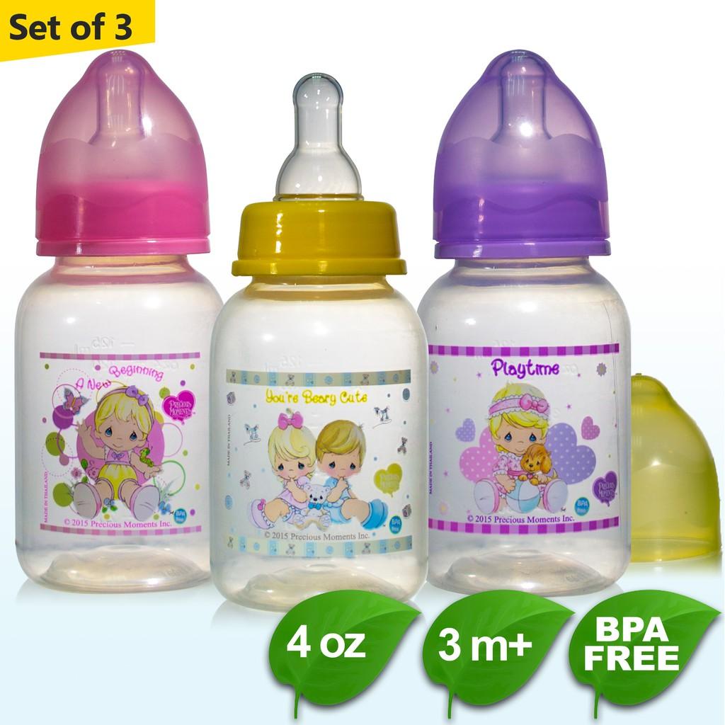 Lovely 5 Oz Sesame Street Baby Bottles 0 Feeding Months Plastic Bpa Free Medium Flow Silicon