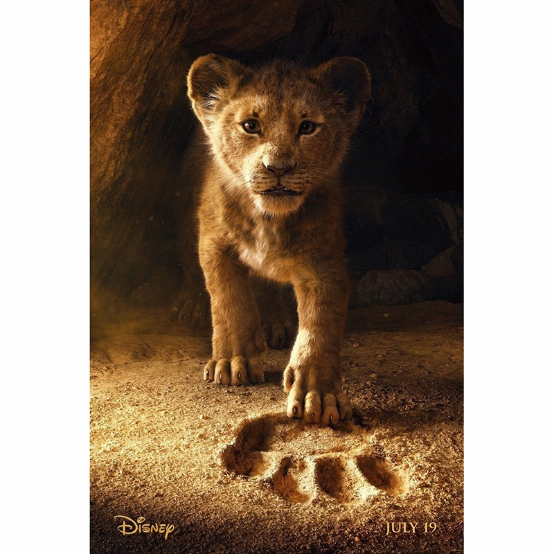 Disney Hand Towel 40X60/cm Little Simba The Lion King