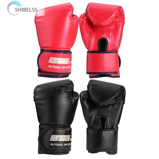 Details about  /2Pcs Durable Boxing Gloves Sparring Grappling Punching Kickboxing Training Mitts