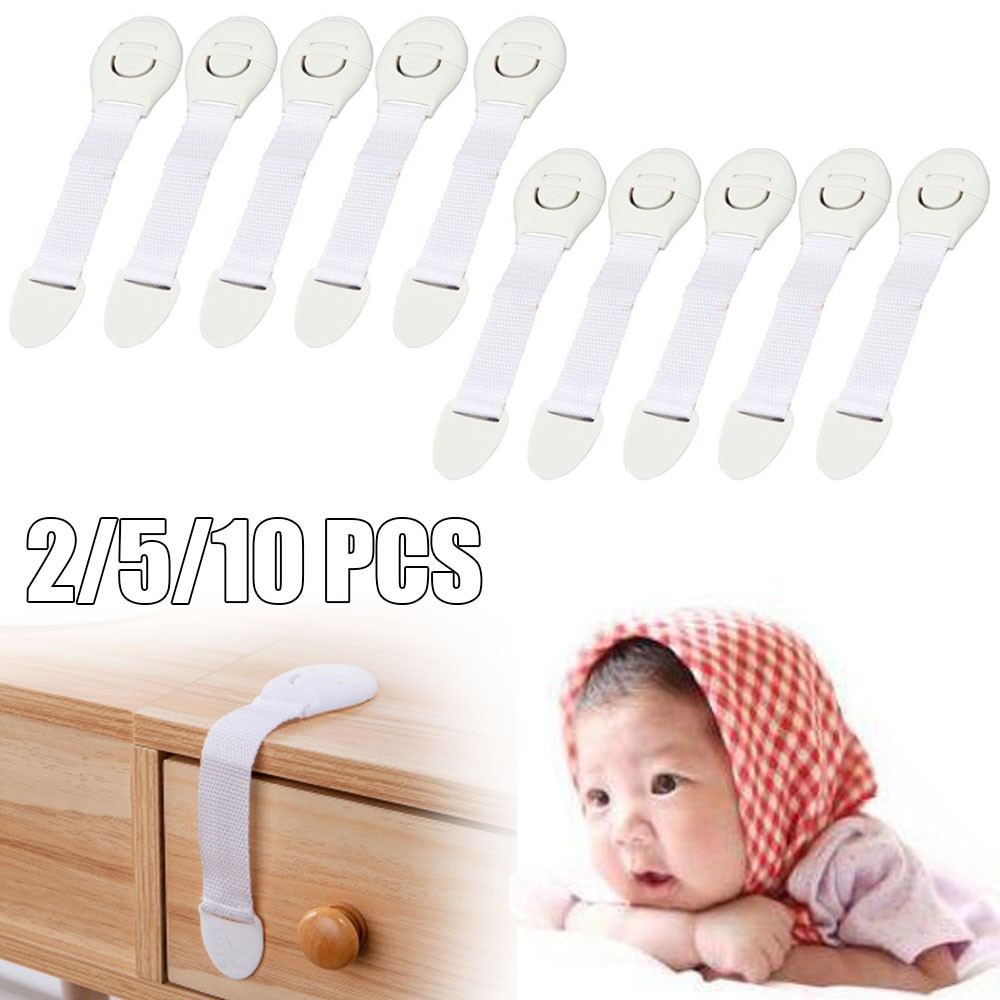 2//5//10PCS Child Baby Kids Safety Lock for Drawer Cupboard Cabinet Door