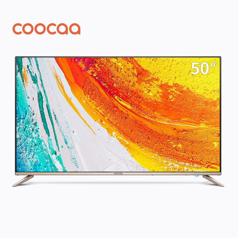COOCAA 50 Inch 4K Android Smart LED TV - Slim Wifi Ultra HD