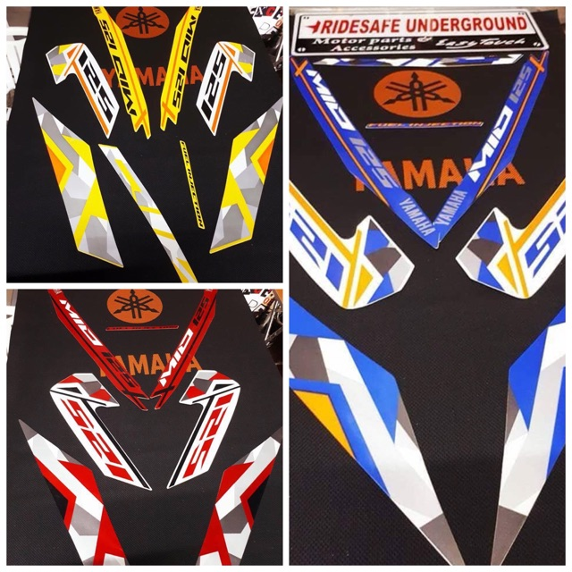 Mio i 125 / M3 Decals - Sticker Thailand Motorcycle