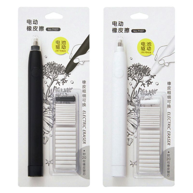Gift Painting Tools Sketch Rubber Refill Electric Eraser Correction Replacement