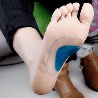 5ba3439703 ☀Soft Gel Orthotic Arch Support Cushion Insoles Pain Relieve Flat Feet  Corrector   Shopee Philippines