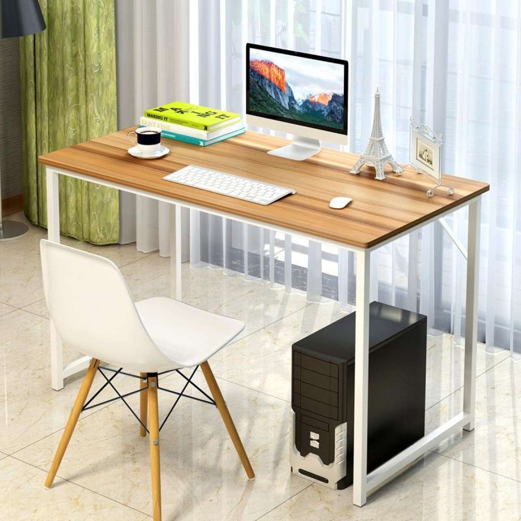 Minimalist Computer Table Red Maple Fxd Shopee Philippines