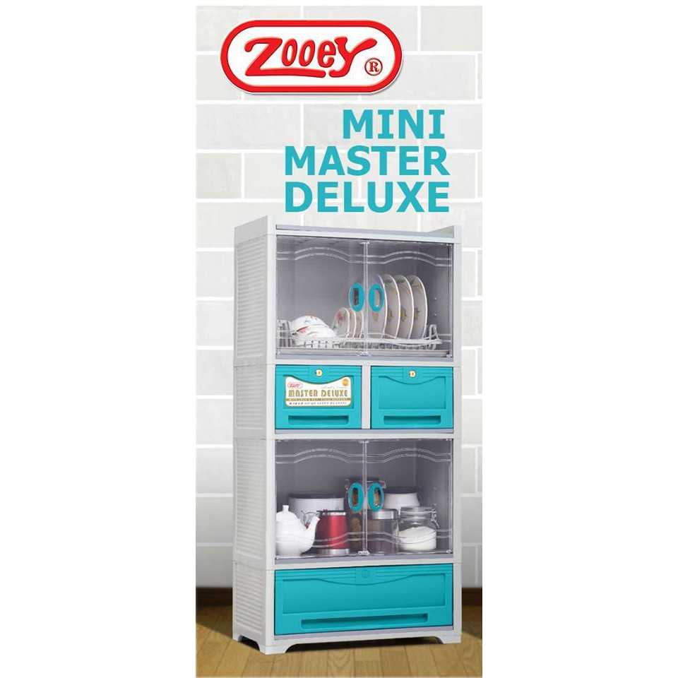 Zooey Master Deluxe Dish Drainer And Cabinet Shopee Philippines