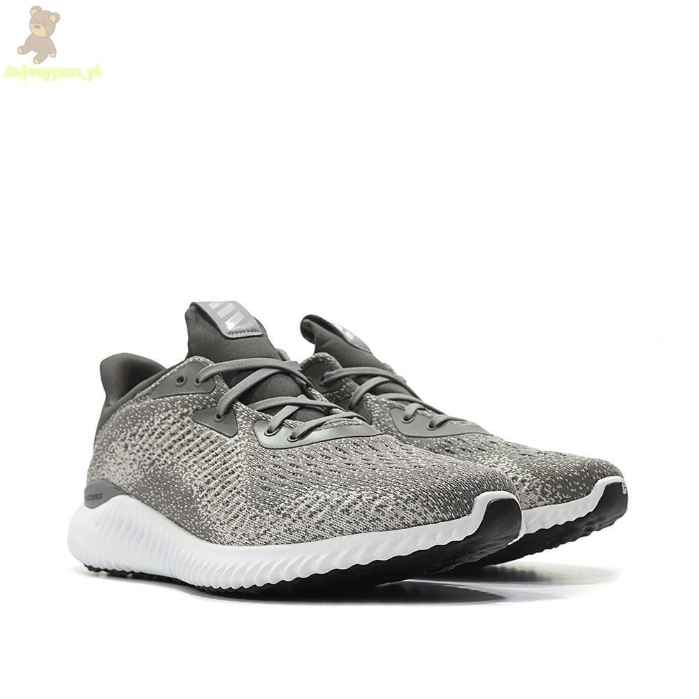 e39d65d95c2 Adidas Alphabounce White Gray Men Size