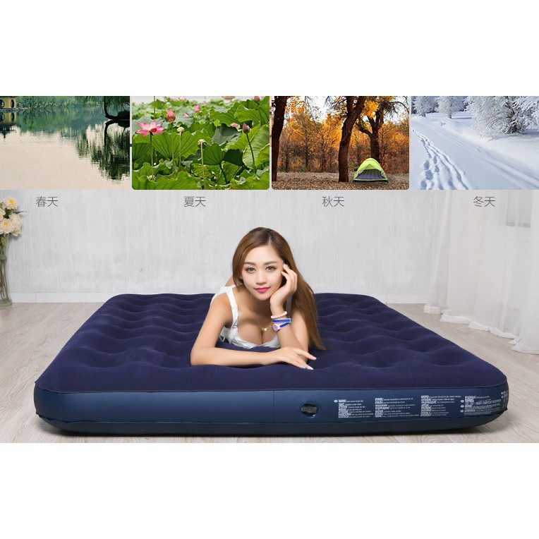 Single Size Air Mattress Inflatable Bed