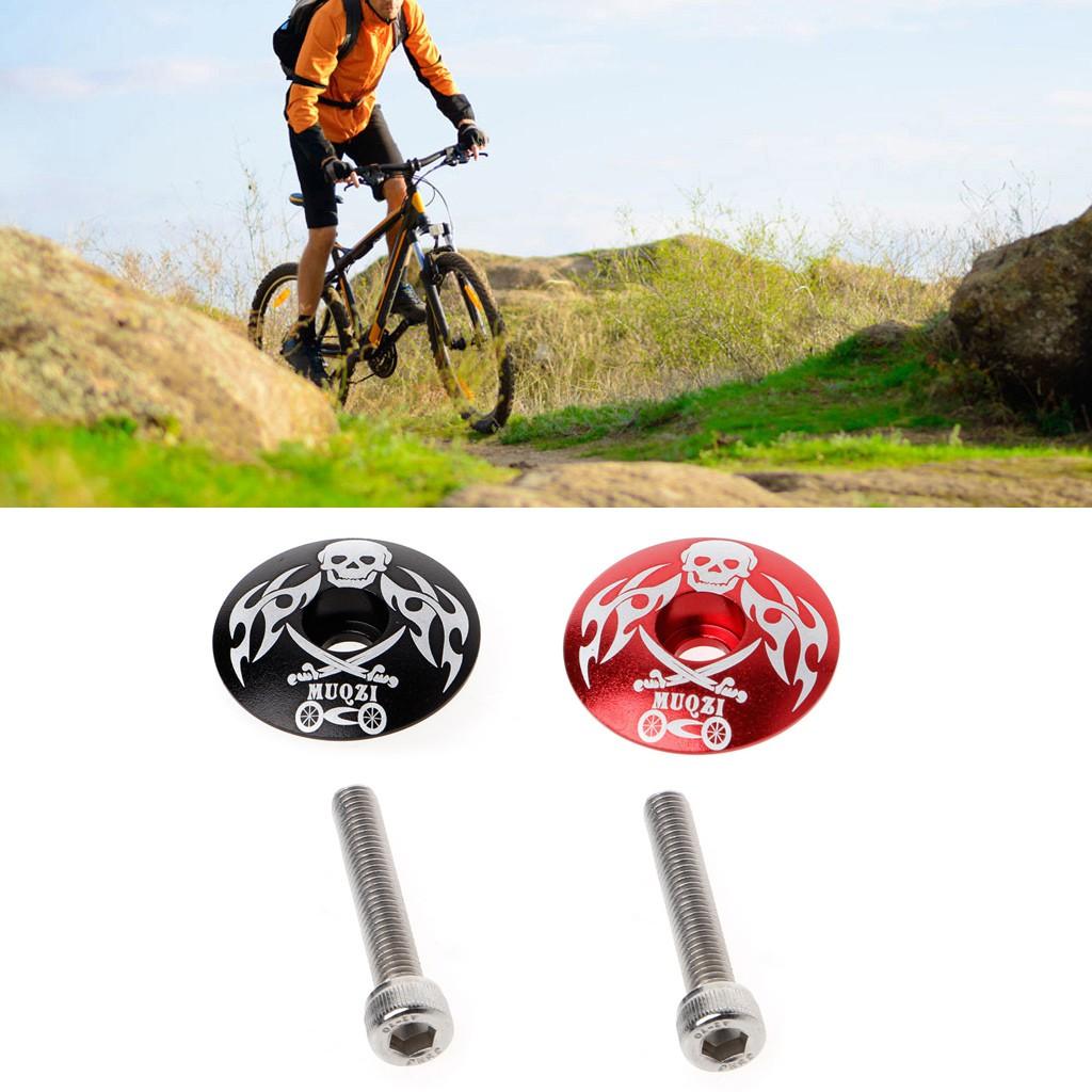 Screw 5 styles Stem Top Cap Cover Headset Screws Bicycle Bowl Cover