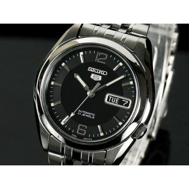 Seiko 5 Snkl23 Automatic Stainless Steel Watch Snkl23k1 Shopee