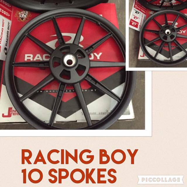 ✔️ RACING BOY MAGS / RCB 10 SPOKES RAIDER 150