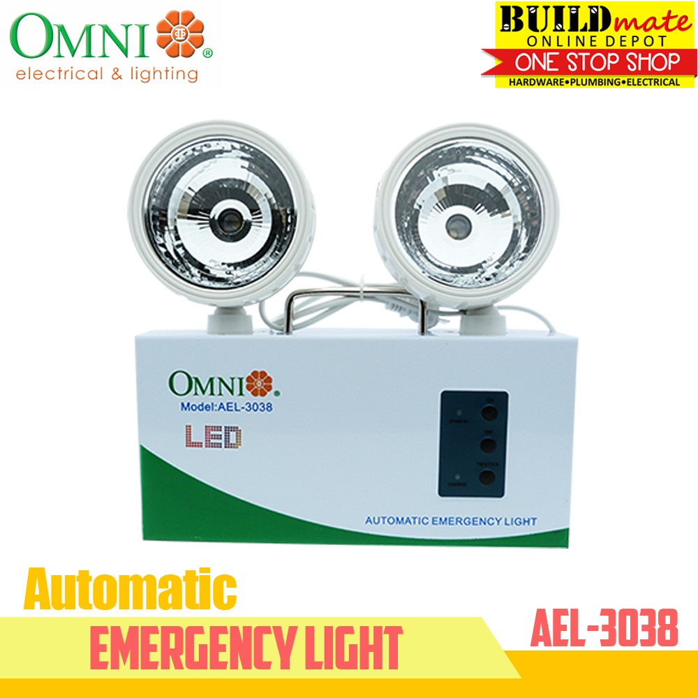 Omni Automatic Emergency Light AEL-3038