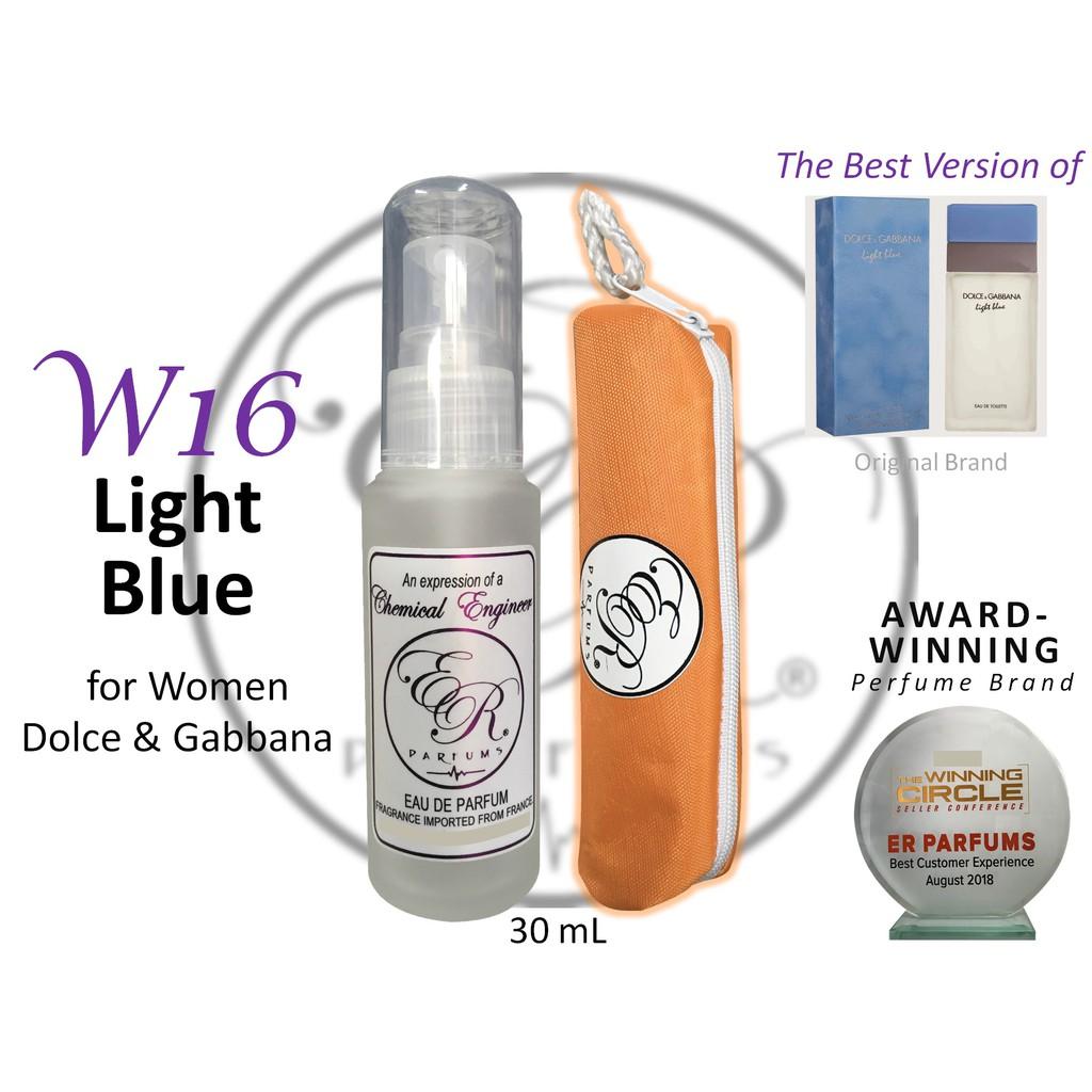 By Er W16 Blue Dolceamp; For Women 30ml Parfums Gabbana Light QhroCsBtxd