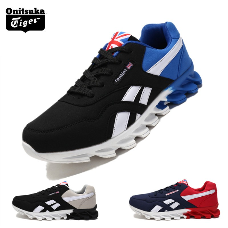 premium selection 393c9 3fdd6 2019 Onitsuka Tiger New Men's casual korean fashion low cut shoes rubber  shoes