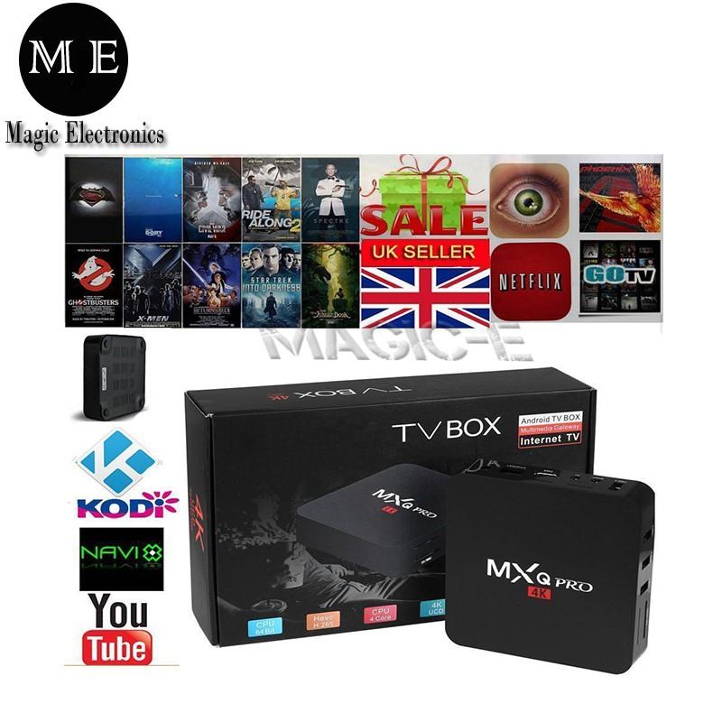 ME MXQ PRO 4K Android Ultra HD TV Box