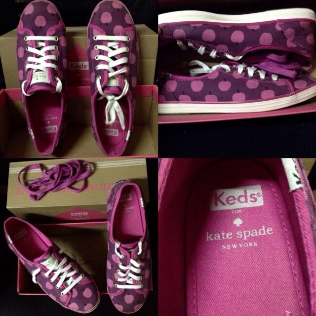17d7403ab28 KEDS KATE SPADE NEW YORK CHAMPION DAISY EMBROIDERY SIZE 8.5