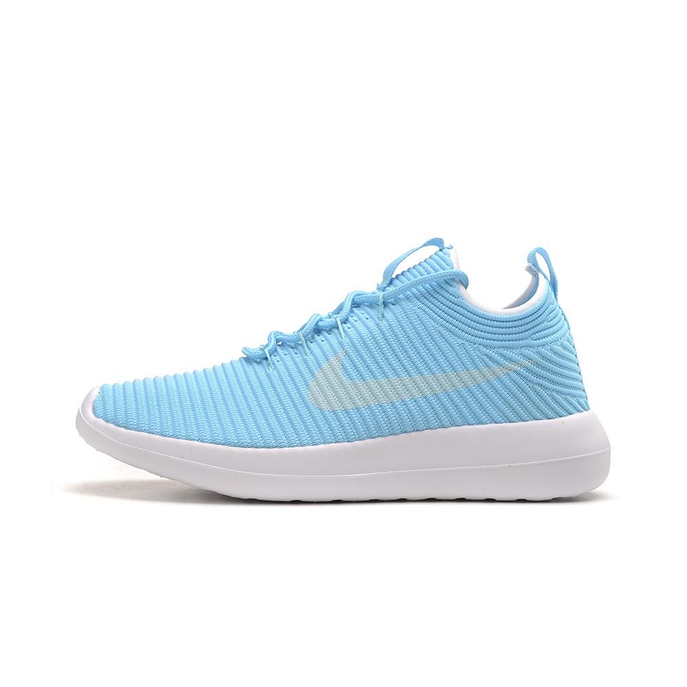 Nike Roshe Run Baby Blue White Shoes Online