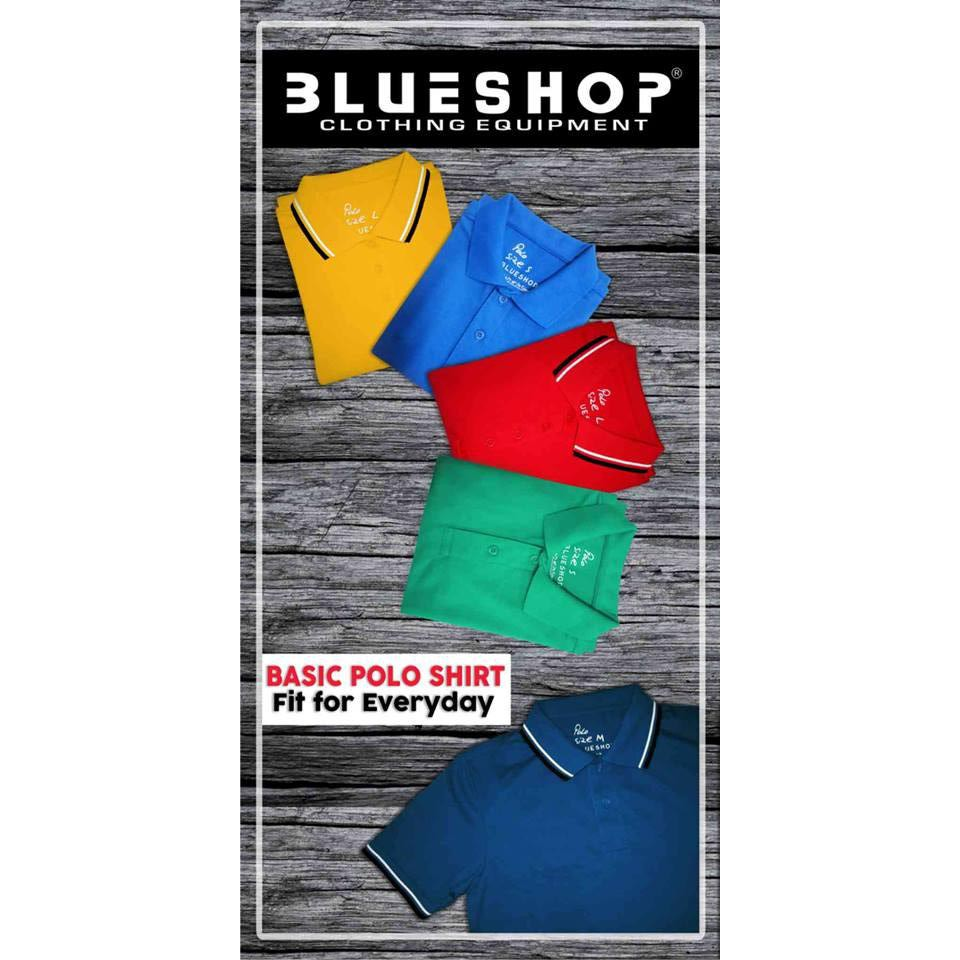 the best attitude bd4d0 c0871 Blueshop Cotton Polo Shirt with Lining 2XL 3XL Plus Size