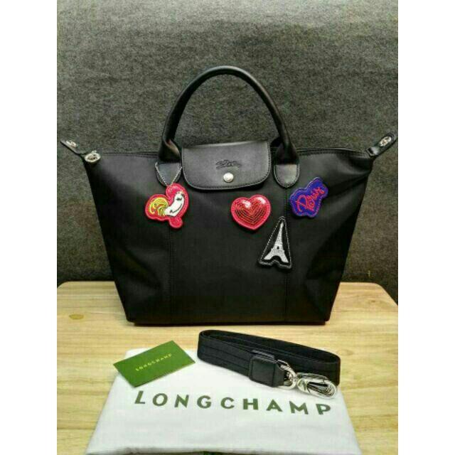 Longchamp 9x8 inches  bdf8ecf7facab