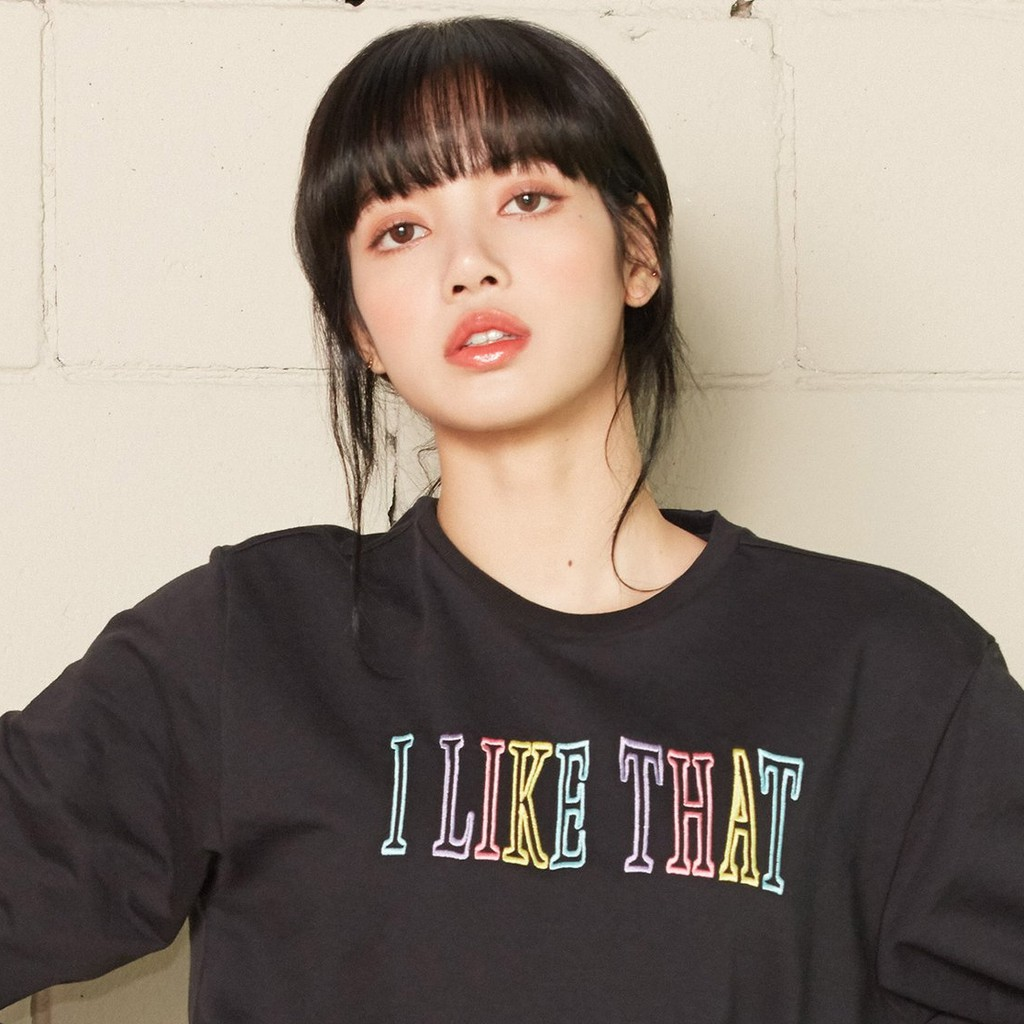 Blackpink Lisa Top Style Pick Be Savage Boxy Tee I Like That Pullover Bucket Hat Shopee Philippines