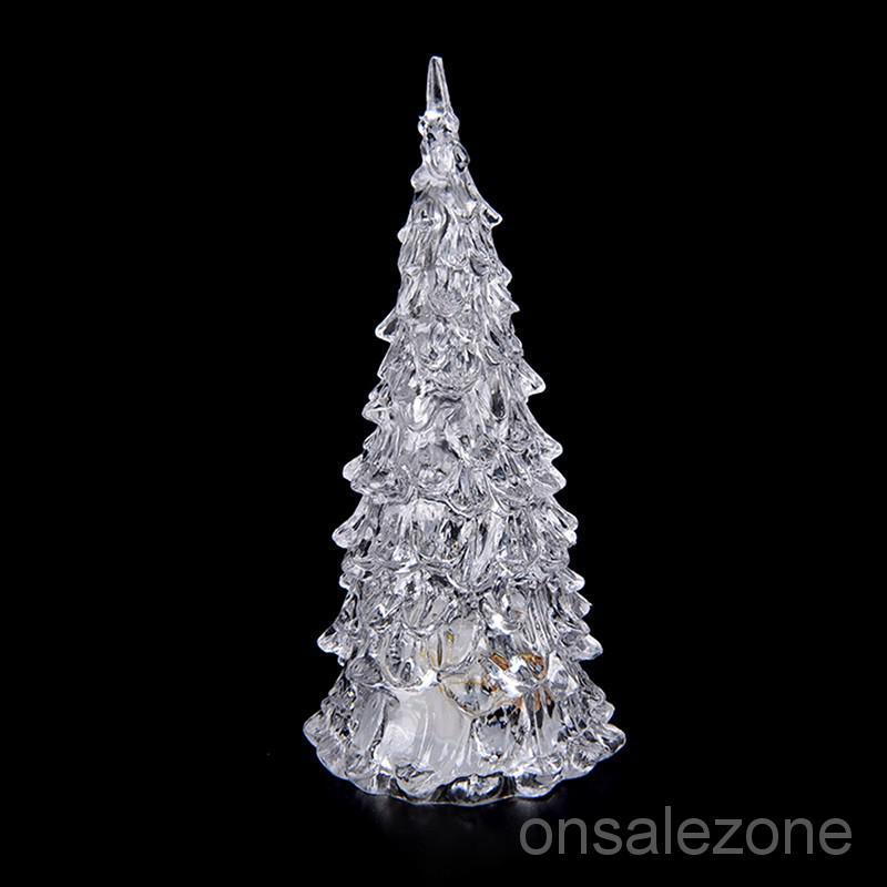 Crystal Christmas Ornaments.Ozph Crystal Christmas Tree Led Table Lamp Light Ornaments Decoration Xmas Part