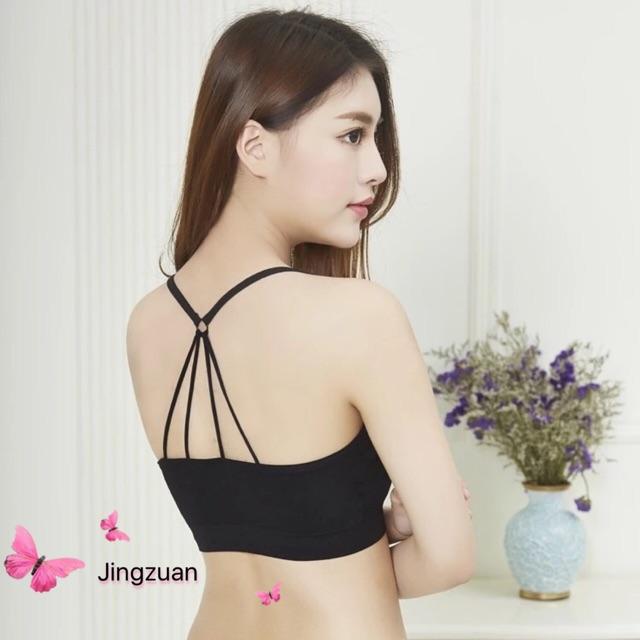 caaad5ad6b3ccd Creative Korean Sexy Bralette Trendy Rib Cage Back Bra