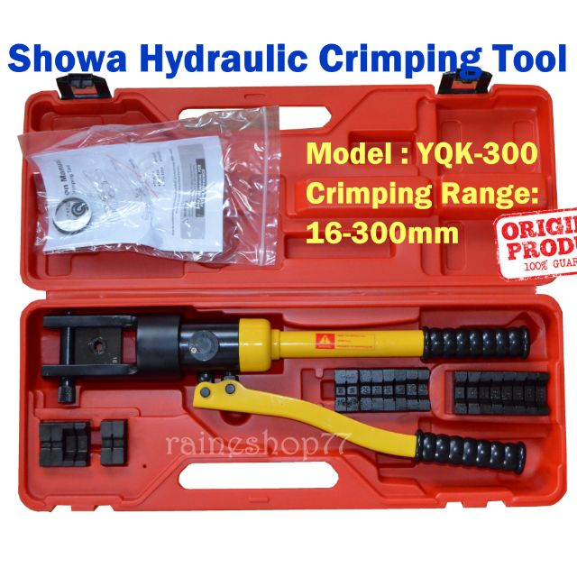 Showa Hydraulic Crimping Tool YQK-300 Crimper