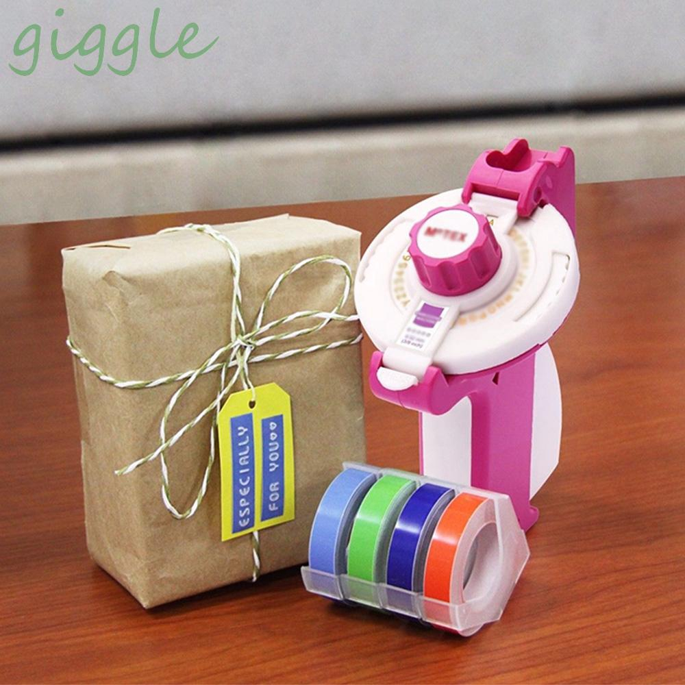 Colorful Label Maker Embossing Refill Tape