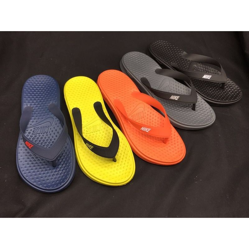 68ab99006583 Nike flip flops dragging sandals male and female slippers ca ...