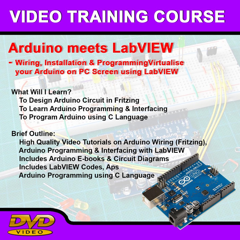 Arduino Meets Labview Wiring Installation Programming Shopee Electronic Circuit Diagram Books Philippines